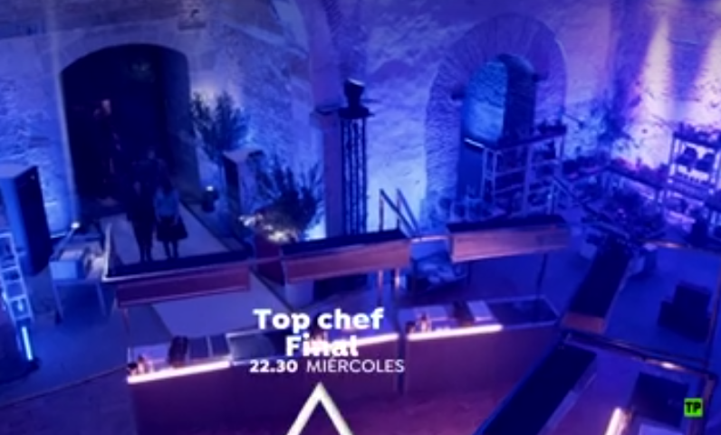 Abadia escenario Top Chef