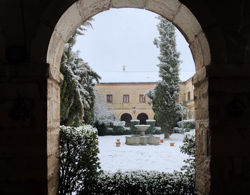 Eventos paisajes nevados Abadía