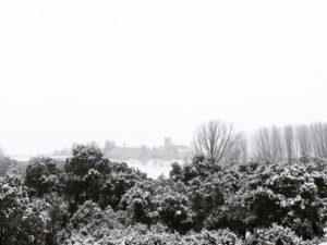 exteriores nevados cerca de madrid