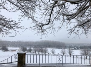 paisajes nevados cerca de madrid